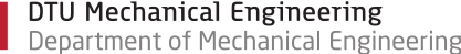 DTU Mechanical Engineering - Section for Thermal Energy